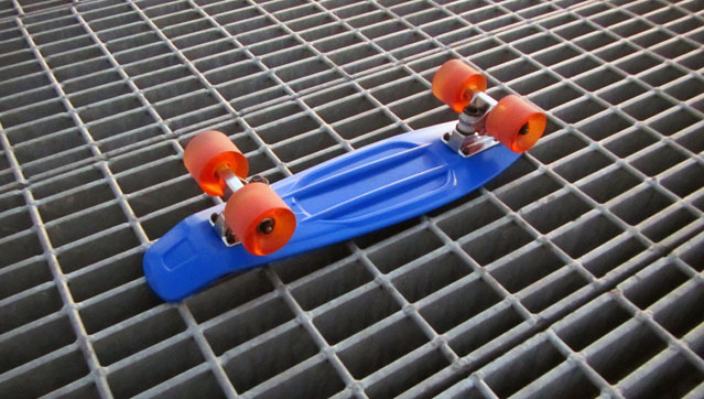 Punked City Cruiser JC 2 Skateboard Review: Punked City Cruiser