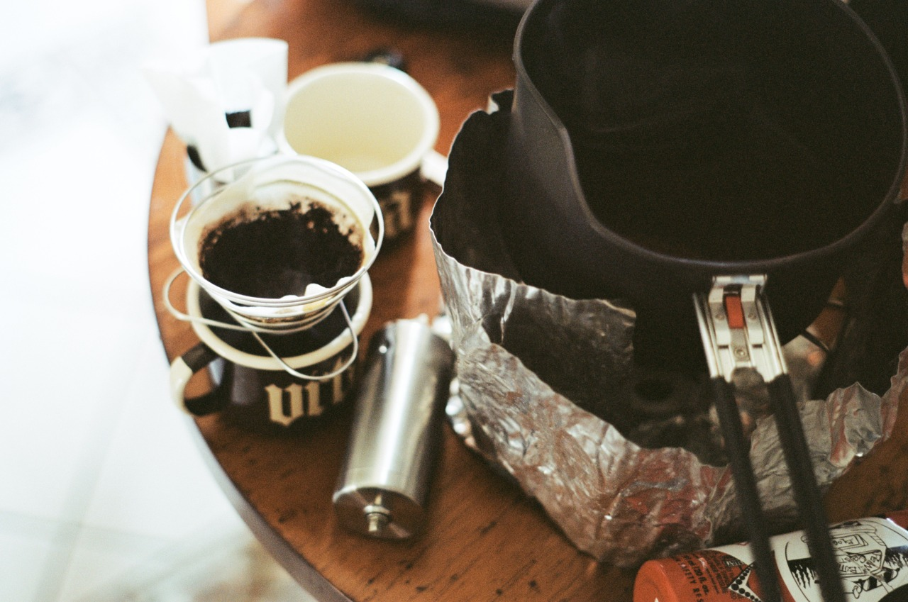 Caffe Vita camping mug photo by Peanut Butter Coast